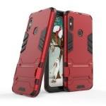 German Tech Funda Cool Shield Roja para Xiaomi Mi A2 Lite/Redmi 6 Pro