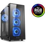 CAJA ATX SHARKOON TG5 GLASS RGB