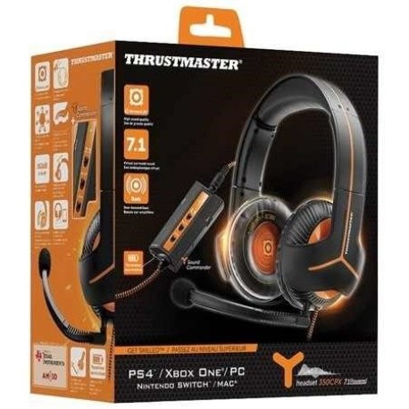 AURICULARES THRUSTMASTER Y-350CPX PS4-PS3-XBOX BLA