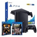 Sony PlayStation 4 Slim 1TB + Call Of Duty Black Ops 4 + Call Of Duty WWII