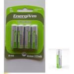 PILAS ENERGY VM AA RECARGABLES 4UN 2400MA