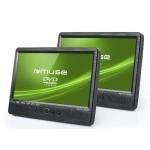 MUSE CAR VIDEO M-1095 CVB DVD-DIVX/CD-MP3 USB/SD/MMC 2 10 SCREENS