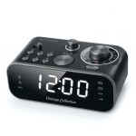 MUSE DESPERTADOR VINTAGE DOBLE ALARMA COLOR NEGRO M-18 CRB
