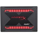 "SSD KINGSTON HYPERX FURY SHFR 240G SATA3 2.5"" RGB BUNDLE"