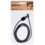 Cable silver ht micro usb usb
