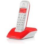 TELEFONO INALAMBRICO DECT DIGITAL MOTOROLA S1201 ROJ