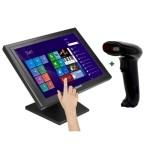 """KIT iggual Monitor Táctil 15"""" + Lector 1D Imag.USB"""