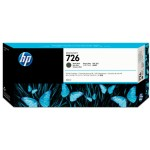 HP Cartucho de tinta DesignJet 726 negro mate de 300 ml