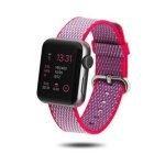 Unotec Correa Chess Nylon para Apple Watch 38/40mm Rosa/Morado