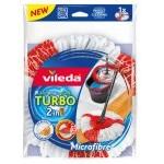 Vileda Turbo 2in1 Recambio para Fregona Turbo con Microfibras y Poliamida