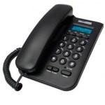 TELEFONO FIJO MAXCOM FIXED PHONE KTX100 NEGRO