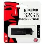 PENDRIVE 32GB USB2.0 KINGSTON DT 104 NEGRO