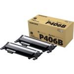HP Samsung CLT-P406B 2-pack Black Toner Cartridges