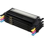 HP CLT-P4072C Tóner de láser Negro, Cian, Magenta, Amarillo