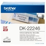 ETIQUETA BROTHER DK22246 10,3 * 30,48 1 BOBINA