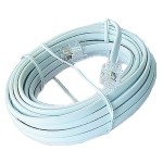 Gembird Cable Telefónico 6P4C RJ11 M/M 5Mts Blanco