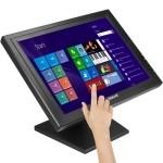 """Iggual Monitor 17"""" TFT LCD Táctil a Color para TPV"""