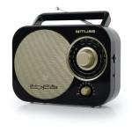 MUSE RADIO M-055 RB/ PORTATIL/ ANALOGICA/ FM/MW/AC/DC