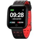 Reloj innjoo sport watch rojo cuadrado