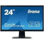 "iiyama ProLite B2483HS-B3 24"" Full HD TN Mate Negro Plana pantalla para PC LED display"
