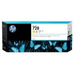 HP 728 300-ml Yellow DesignJet Ink Cartridge