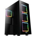 CAJA E-ATX AEROCOOL TOR USB 3.0 NEGRA 3 VENT RGB