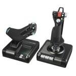 Logitech G Saitek X52 Pro Flight Control System Controlador Simulador de Vuelo