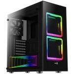 Aerocool Tor RGB Cristal Templado USB 3.0 Negra