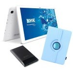 BUNDLE TABLET 3GO GT10K3IPS + TRAV5 + FUNDA CELEST