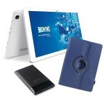 BUNDLE TABLET 3GO GT10K3IPS + TRAV5 + FUNDA AZUL