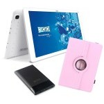 BUNDLE TABLET 3GO GT10K3IPS + TRAV5 + FUNDA ROSA