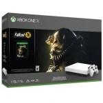 Microsoft Xbox One Consola X Blanca + Fallout 76
