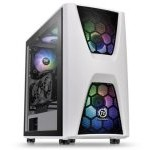 Thermaltake Commander C34 TG Snow ARGB Edition Cristal Templado USB 3.0