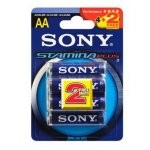 Sony AM3 Pack 4+2 Pilas Alcalinas Stamina Plus AA LR6