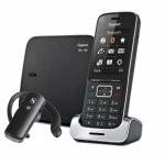 Gigaset SL450 Teléfono Dect + Manos Libres Bluetooth Negro