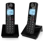 Alcatel S250 Duo Teléfono DECT Negro