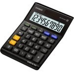 Casio MS-100TERII Calculadora Básica Negra