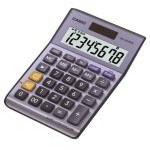Casio MS-80VERII Calculadora Básica Azul