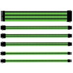 KIT EXTENSION CABLES COOLER MASTER VERDE/NEGRO