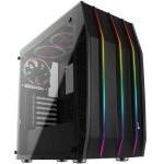 Aerocool Klaw RGB Cristal Templado USB 3.0 Negra