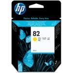 HP Cartucho de tinta DesignJet 82 amarillo de 28 ml