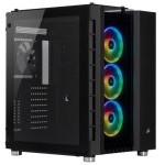 Corsair Crystal 680X RGB Cristal Templado USB 3.0 Negra