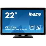 "iiyama ProLite T2236MSC 21.5"" 1920 x 1080Pixeles Multi-touch Negro monitor pantalla táctil"