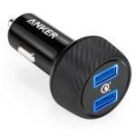 Anker PowerDrive Speed 2 Cargador para Coche 2 Puertos USB