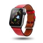 Unotec Correa Cuero Roja para Apple Watch 38/40mm