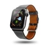 Unotec Correa Cuero Gris para Apple Watch 42/44mm