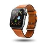 Unotec Correa Cuero Marrón para Apple Watch 42/44mm