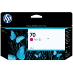 HP Cartucho de tinta DesignJet 70 magenta de 130 ml