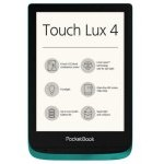 "PocketBook Touch Lux 4 eReader 6"" 8GB Wifi Verde Esmeralda"