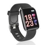 Fierro Sporty Reloj Smartwatch Curvo Negro